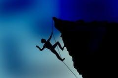 Alpinista Foto de Stock