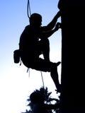 Alpinista dois Fotos de Stock Royalty Free