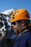 Alpinista - Romania Fotografia Stock