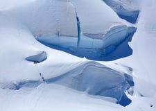 Alpinistas fotos de archivo