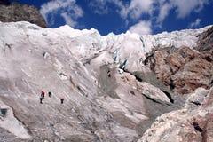 Alpinistas Imagem de Stock Royalty Free