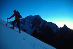 Alpiniste photo libre de droits