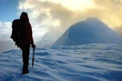 Alpiniste Images libres de droits