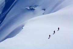 Alpinisten stock fotografie