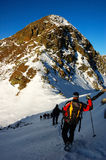 alpinistes image stock