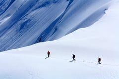 Alpinisti Fotografie Stock