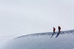 Alpinisti Fotografia Stock Libera da Diritti