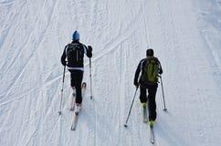 Alpinisti del pattino Fotografia Stock Libera da Diritti
