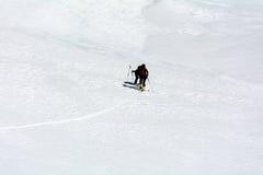 Alpinisti del pattino Immagini Stock
