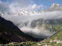 Alpinisti nel Caucaso Immagine Stock Libera da Diritti