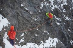 alpinists стоковое фото rf