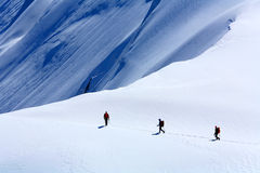 Alpinists Stock Photos