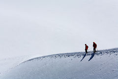 Alpinists Royalty Free Stock Photo