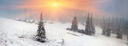 Alpino è il clima Immagine Stock Libera da Diritti