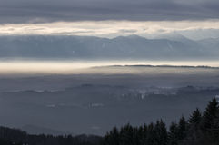 Alpino bavarese Fotografia Stock