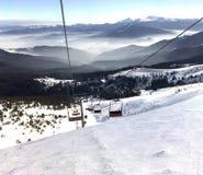 Alpino. Carpathians. Fotografia Stock Libera da Diritti