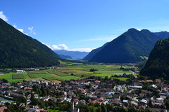 Alpino del panorama Imagenes de archivo