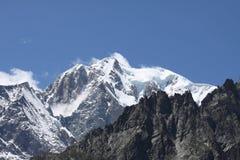 alpint berg Royaltyfri Fotografi