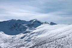 alpint landskap Royaltyfri Bild