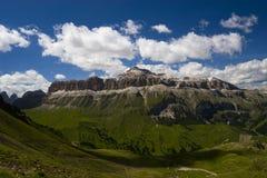Alpint landskap Arkivbild