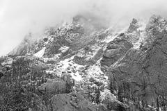 Alpint landskap, Sangre de Cristo Spänna, Rocky Mountains i Colorado Royaltyfri Fotografi