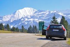 Alpline road trip Stock Image
