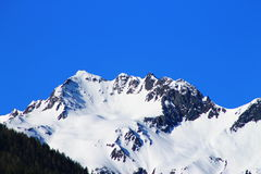 alpsÖsterrike toppmöte Arkivfoto