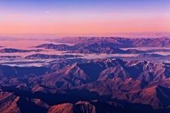 alps новый южный zealand Стоковые Фотографии RF