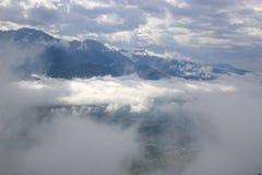 alps французские Стоковые Фотографии RF