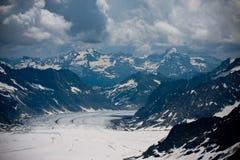 alps швейцарские Стоковая Фотография