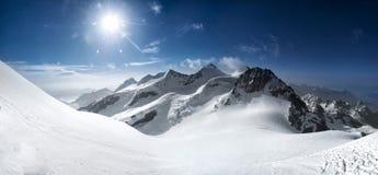 alps швейцарские Стоковые Фото