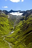 alps швейцарские Стоковое Фото