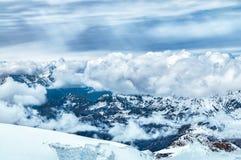 alps швейцарские Стоковые Изображения