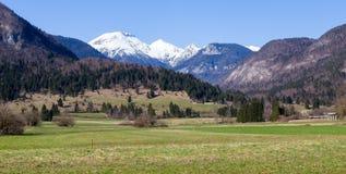 alps юлианская Словения Стоковая Фотография RF