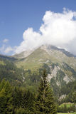 Alps. Beautiful Alpine landscape of Hohe Tauern National Park in Austria Royalty Free Stock Photos