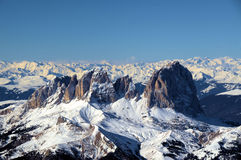Alps. The huge summits in Alps (Italy Royalty Free Stock Photography