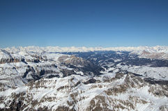 Alps. View of alps in Italy Royalty Free Stock Images