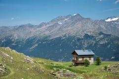 Alps. Near the village Valloire Royalty Free Stock Photos