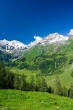 Alps. Mountains view in Alps, in a sunny day Stock Images