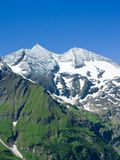 Alps. Mountains view in Alps, in a sunny day Stock Image