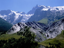 Alps stock image