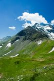 Alps. Mountains view in Alps, in a sunny day Royalty Free Stock Images