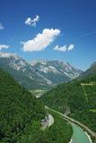 alps arkivbild