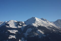 The Alps. A sunny day in the Austrian Alps Stock Photography