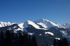 The Alps. A sunny day in the Austrian Alps Stock Photos