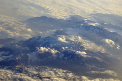 Alps from above Royalty Free Stock Photography
