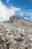 Alps - ascent on the Watzmann peak Stock Photo