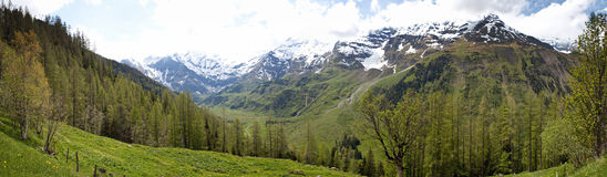 Alps in Austria Royalty Free Stock Images