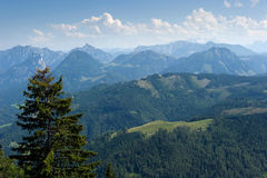 Alps in Austria Royalty Free Stock Photo