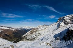 The alps in Austria Royalty Free Stock Photo